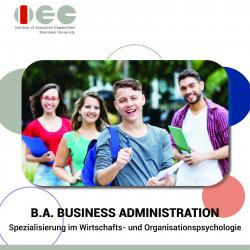 Business Administration (Spezialisierung: Wirtschafts- und Organisationspsychologie)