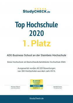 Bachelor of Arts - Business Administration (duales Studium für Abiturienten)