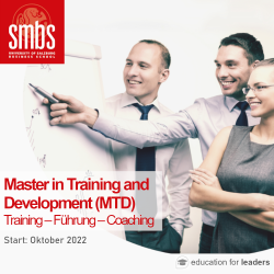Master in Training and Development (MTD)