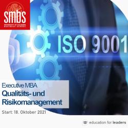 Executive MBA Qualitäts- und Risikomanagement